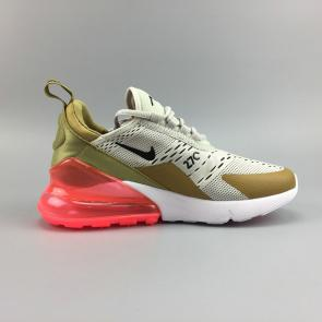nike air max 270 chaussures de fitness femmes new ah6789-700 brown